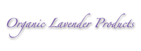 Organic Lavender Products